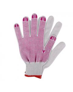 Werkhandschoenen Katoen Roze Maat. Xl