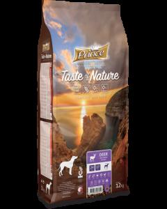 Prince Hond 12 Kg Taste Nature Hert