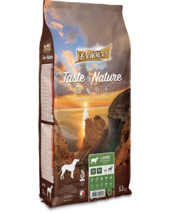 Prince Hond 12 Kg Taste Nature Lam