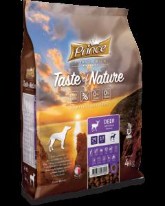 Prince Hond 4 Kg Taste Nature Hert