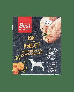Best for your Friend Hond gestoomde maaltijd kip, 395 gram