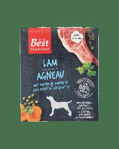 Best for your Friend Hond gestoomde maaltijd lamsvlees, 395 gram