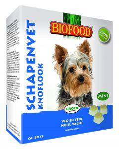 Biofood Schapenvet Mini Knoflook 80 Stuks