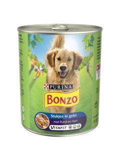 Bonzo Rund en Hart in Gelei 800 gr