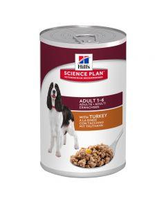 Hills Hond 370 Gr Adult Kalkoen