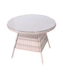 Kaapstad Wicker Table D100 Cm