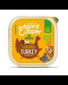 Edgard & Cooper Biologische Kalkoen Kuipje 100 gram