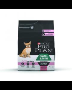 Pro Plan Small/Mini Adult Sensitive Skin 3 kg