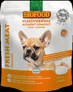 Biofood Vers Vlees 7 X 90 gr Zalm