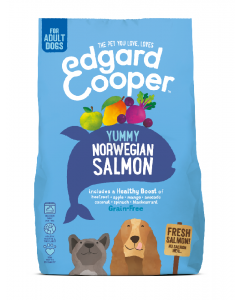 Edgard & Cooper | Verse Noorse Zalm Brok | Voor volwassen honden | Hondenvoer | 7kg